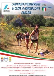 Locandina Campionato montagna